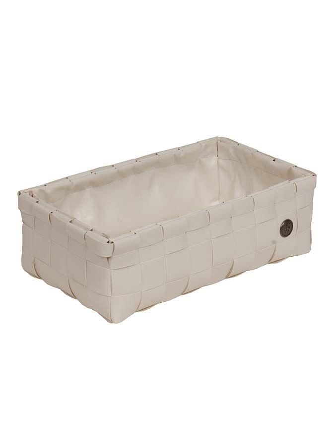 Beżowy, podłużny kosz do przechowywania rzeczy z kampanii Handed By 45 PLN  #limango #basket #sales #home #inspiration