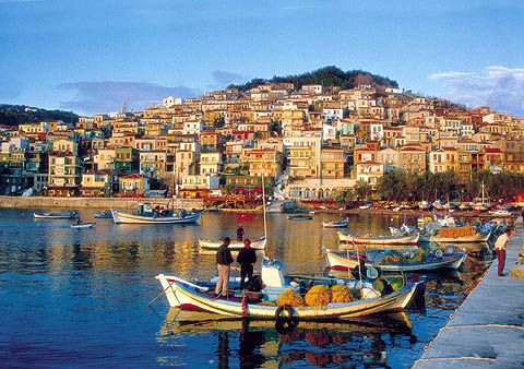 Plomari, Lesvos island.  Why not join us in October to see all the sites. See our website for all the details.