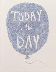 Today is the Day Blå – Stilleben