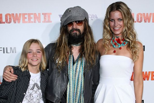 Rob Zombie Wife and son