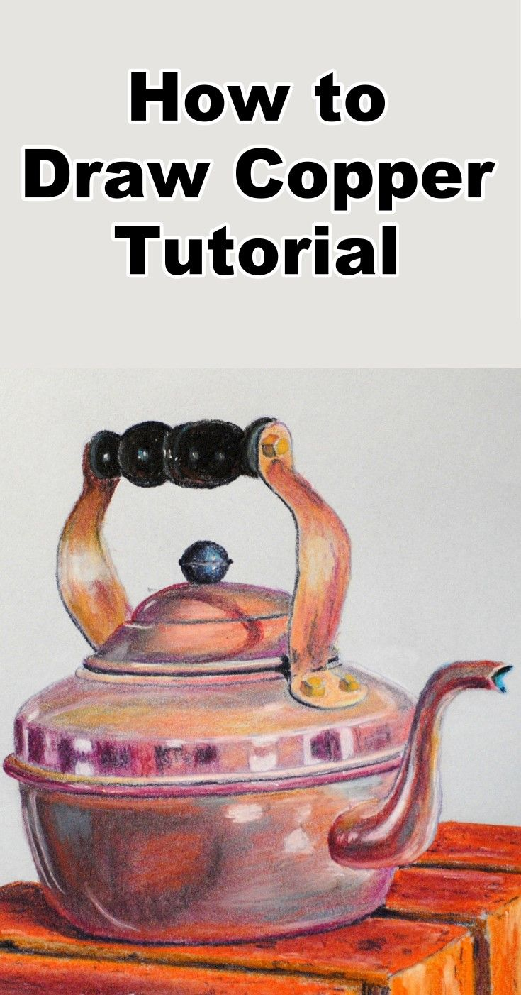 Learn how to draw copper in this free pastel online art class