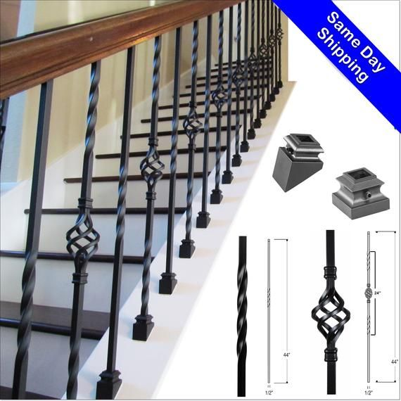 Iron Balusters Iron Stair Parts Iron Stair Railing Parts For Stairs Stair Spindles Stair Building Material Home Improvement In 2020 With Images Iron Balusters Iron Stair Railing Metal Stairs