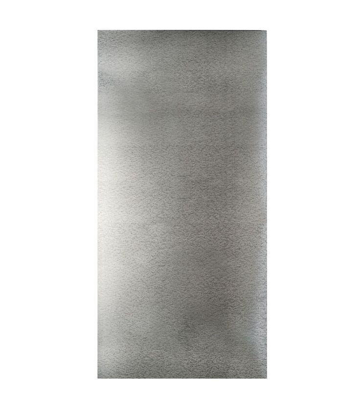 "Galvanized Steel Sheet 12""X24""-Silver"