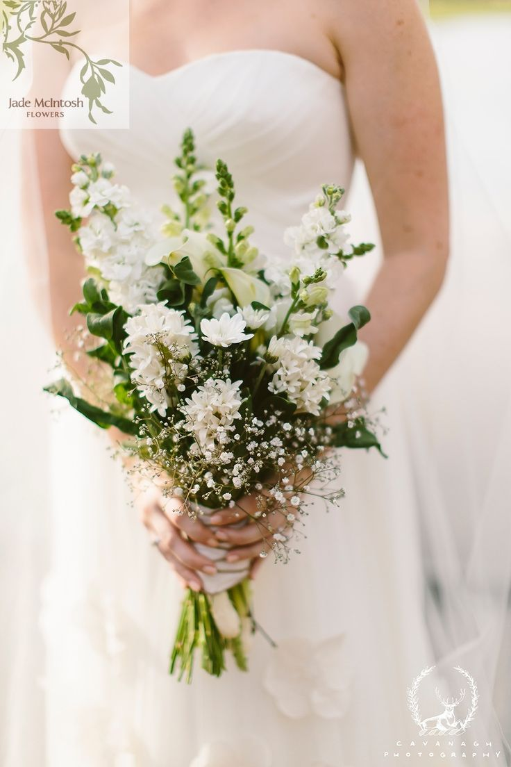 88 best autumn bouquets by jade mcintosh flowers images on janines loosely gathered bouquet features white hyacinth white delphinium white stock and arum lollies dhlflorist Choice Image