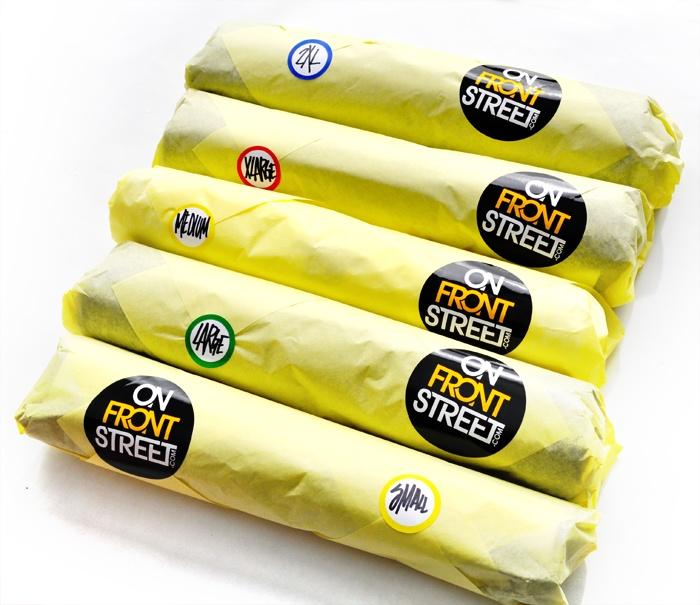 Custom Packaging: The California Burrito for Tees