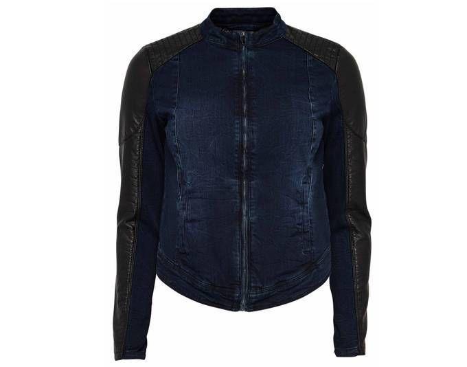 Only Jeans Jacke Damen STARLET Biker Pu Blau-Schwarz Gr. 36 Jetzt bestellen unter: https://mode.ladendirekt.de/damen/bekleidung/jacken/jeansjacken/?uid=972e194b-7a89-5f14-8a17-760112acc493&utm_source=pinterest&utm_medium=pin&utm_campaign=boards #jeansjacken #bekleidung #jacken