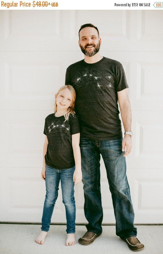 Father's Day Gift Big Dipper Little Dipper by blackbirdtees