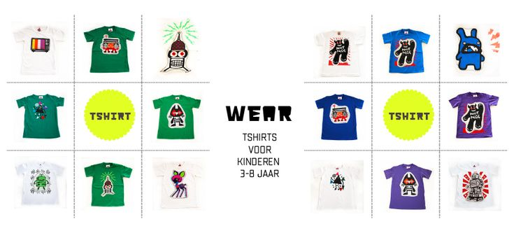 ★ W E A R  |  kinderwinkel-online.nl | t-shirts for kids