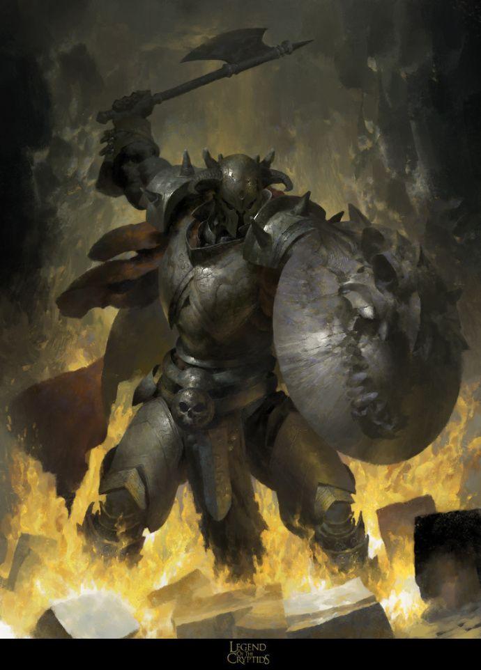 Dragon Paladin Mikes the Beamhand
