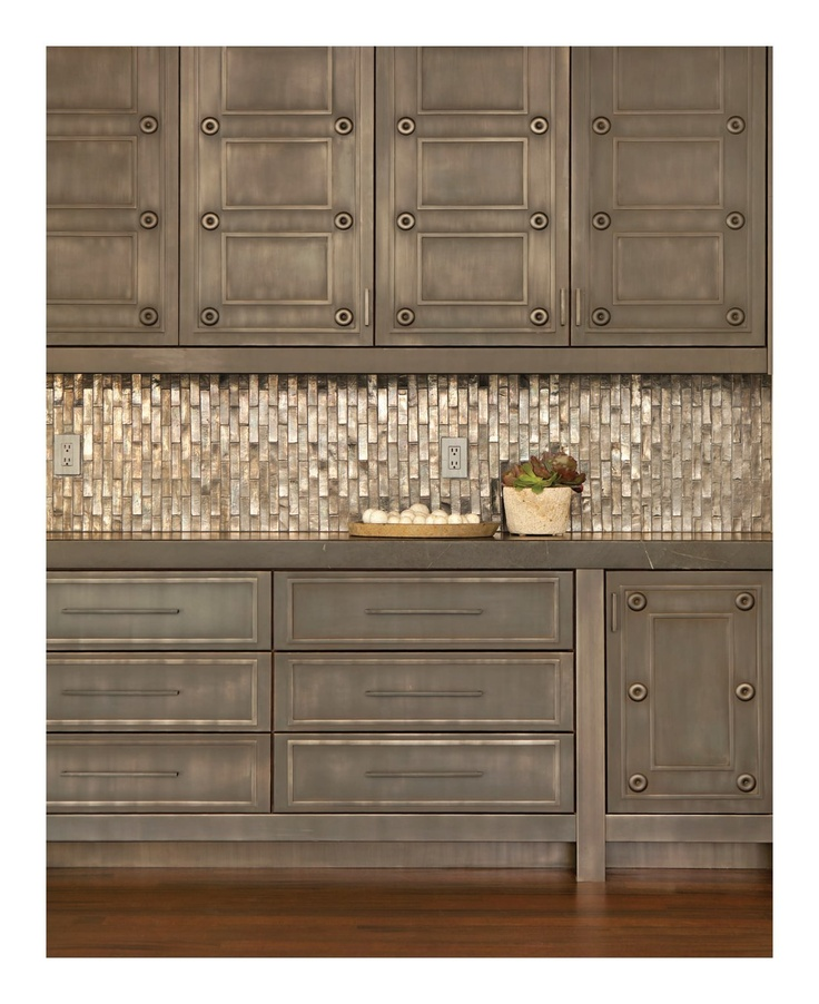 Kitchen Tile Work: Interesting Cabinet Finish And Tile Work Interiors - October/November 2012