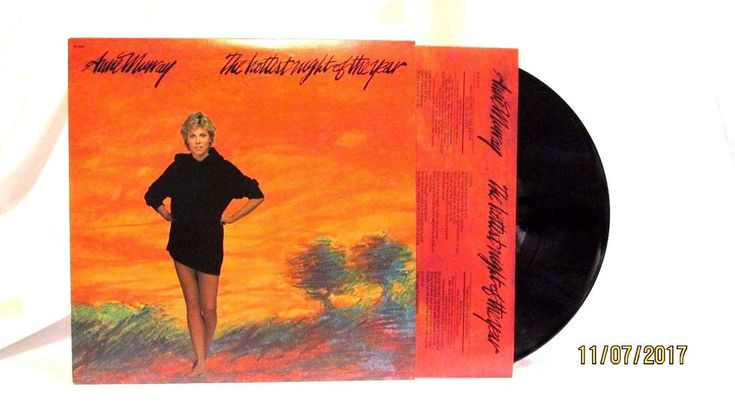 1982 Anne Murray The Hottest Night of the Year Vinyl LP 33 Capitol Records  #Europop