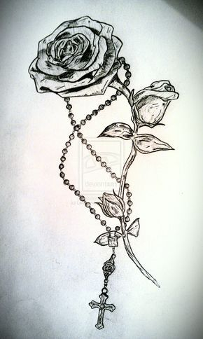 Rosary tattoo - Google Search