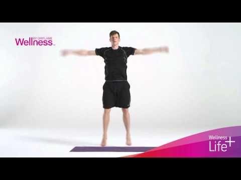 Разминка с программой Life+ от Wellness