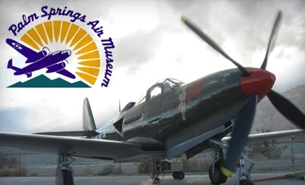 Palm Springs Air Museum is home to one of the world's largest collections of flyable WWII aircraft.