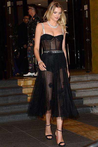 Лили Дональдсон в Dior