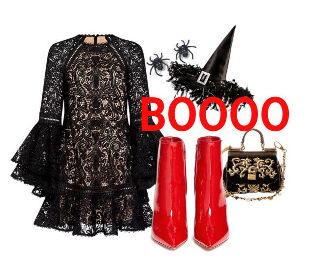 Halloween 2 by illetilmote on Polyvore featuring Alexis, Gianvito Rossi, Dolce&Gabbana and Tarina Tarantino