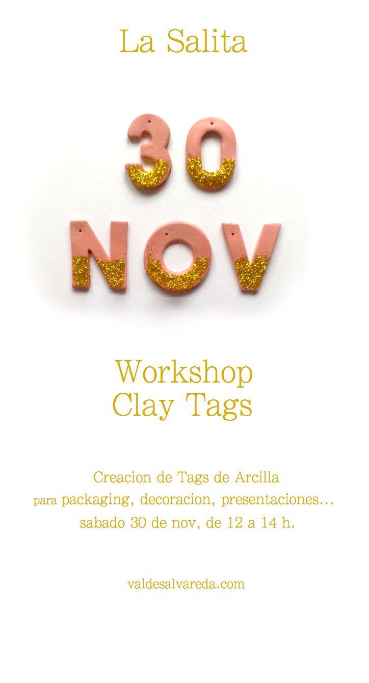 Clay Tags www.valdesalvareda.com