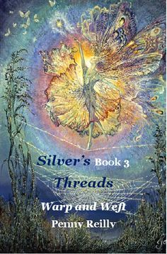 From Silver's Threads Book 3, Warp & Weft Dance the last dance of Dragonfly, on delicate wings in an azure blue sky Soon the first mists and frosts of the time will cover the land in icy rime She will sleep the long sleep in enchanted pools, her wings folded tight as the planet cools and then in the spring her offspring emerge to fly trembling again, on the brink, on the verge For nothing ever truly dies as we dance the last dance of Dragonfly