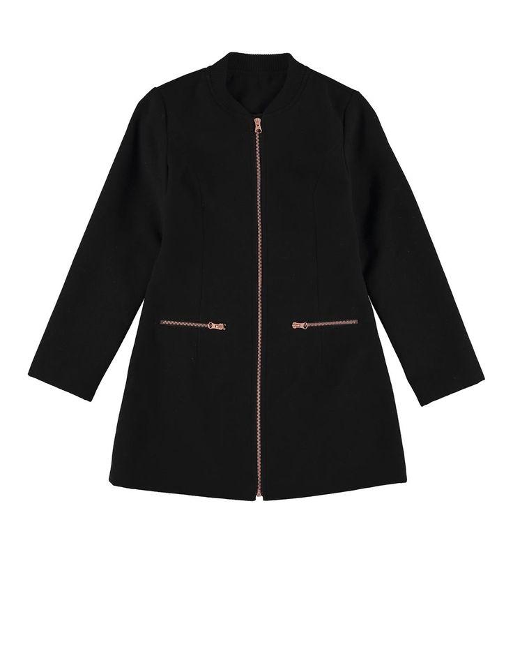 Sporty Melton Coat