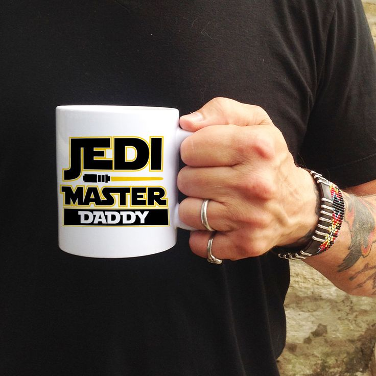 Psychobaby - Personalized Jedi Master Mug, $16.00 (http://www.psychobabyonline.com/personalized-jedi-master-mug/)