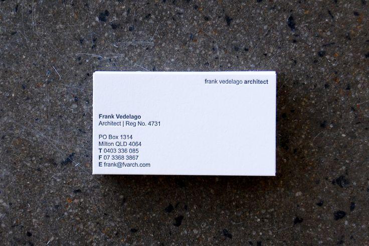 Little Peach - Frank Vedelago Architect {Letterpress}