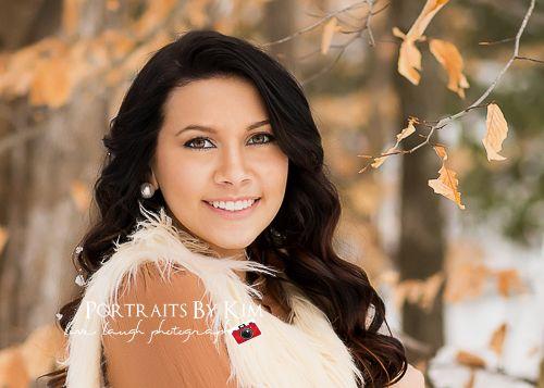 Snow Senior Pictures | Mechanicsville MD