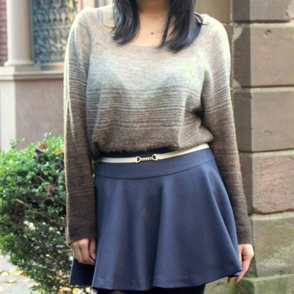 Ombré sweater by LayersofChic