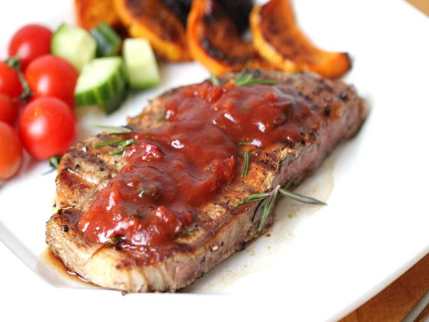 Picture Dallas Buyers Club Texas Steak with BBQ Sauce