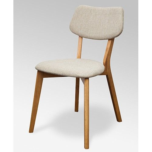 Set of 2 - Jelly Bean Dining Chair - Sand 25% OFF | $299.00 - Milan Direct
