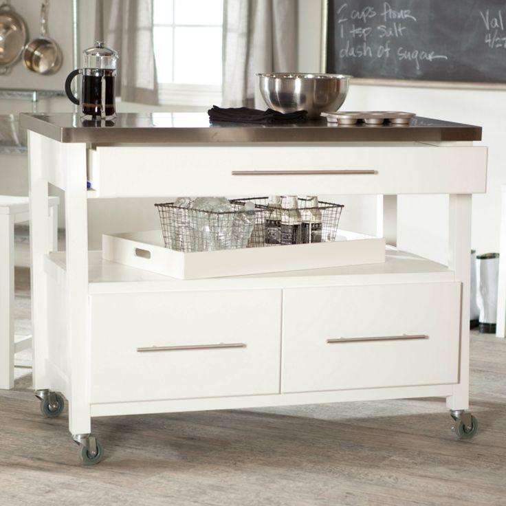 Islas para cocinas peque as y moviles muebles - Isla para cocinas pequenas ...