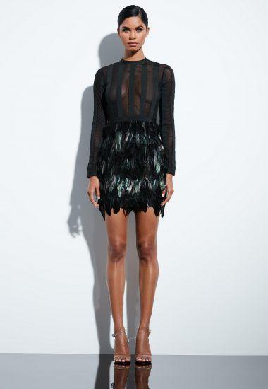 4ba245a4390 robe-bandage-noire--plumes-peace--love-jourdelan-lauraazzurra ...