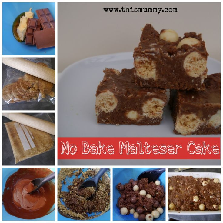 No-Bake Malteser Cake :: This Mummy... @thismummy