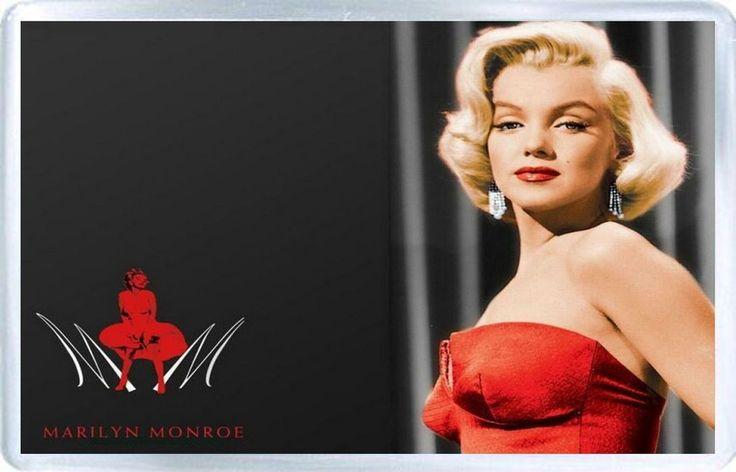 Marilyn Monroe - Plastic Fridge Magnet G