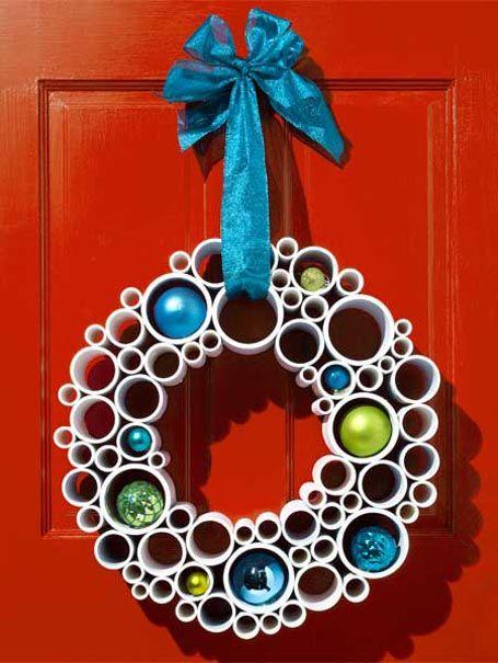 50 Amazing Christmas Wreath Decorating Ideas 2015   Christmas Celebrations