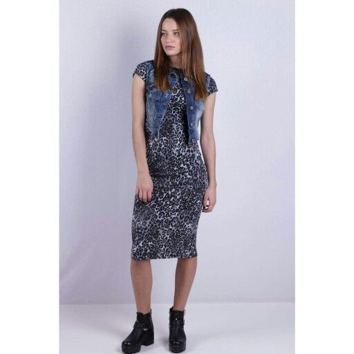 Baby doll you need some rock n roll <3 New leopard midi dress just arrived !