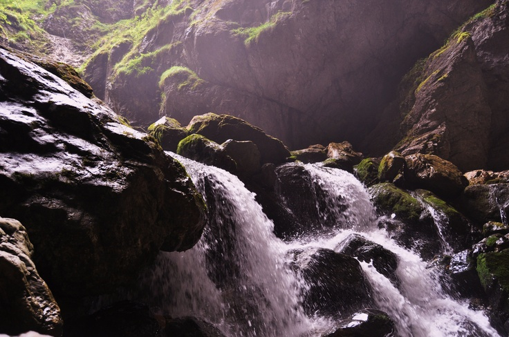 waterfall in Padis - The Carpathians