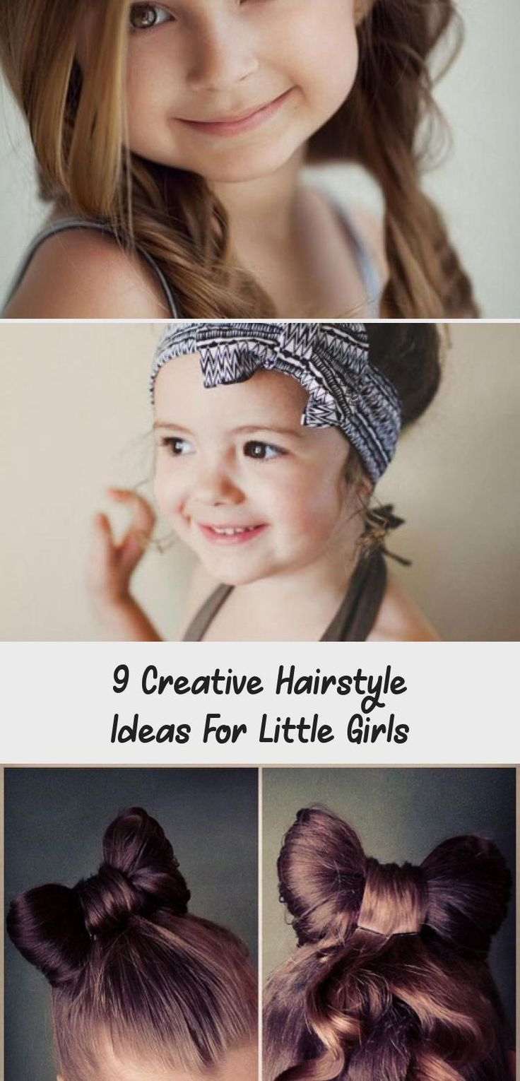 9 Creative Hairstyle Ideas For Little Girls #babyhairstylesStepByStep #babyhairstylesSketch #babyhairstylesShortHair #babyhairstylesMen #babyhairstylesVideos