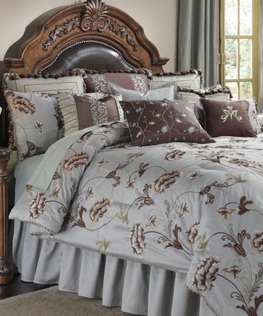 Best Bedding Images On Pinterest Comforters Bedroom Ideas - Blue and brown teen bedding
