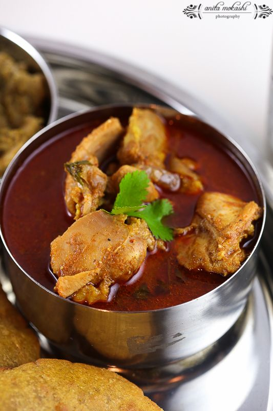 Malvani Chicken Thali Recipes
