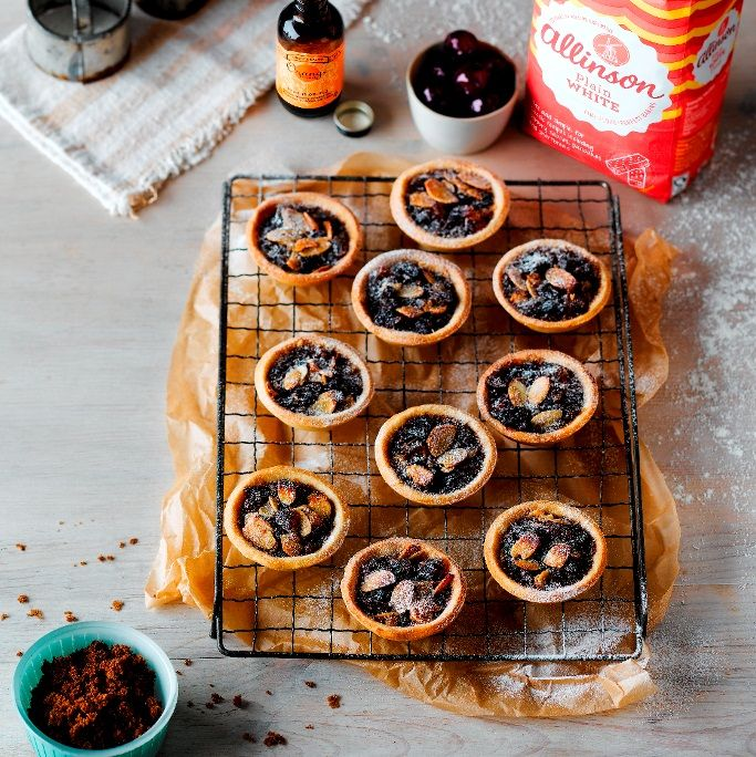 This Ecclefechan Tarts Recipe is named after the village of Ecclefechan in Dumfries and Galloway and has a treacly filling of dried fruit and cherries.