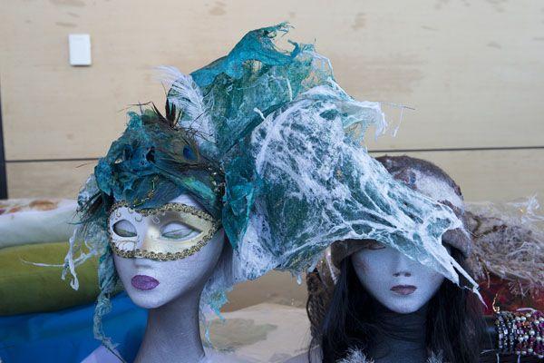 Wearable Art Designer Corner, headpiece by Jane Patterson