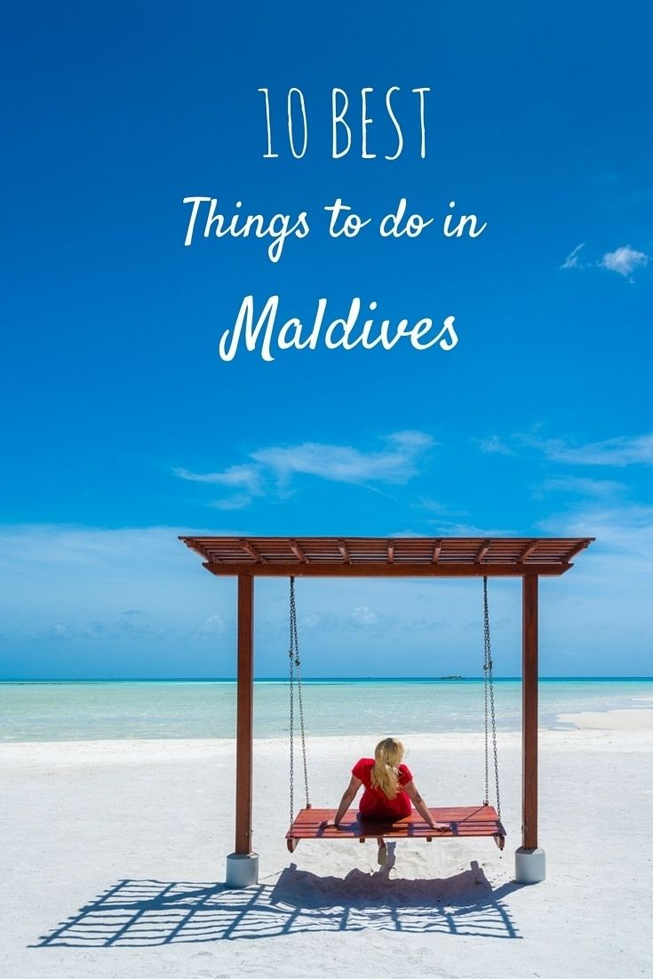 things to do in Maldives relax