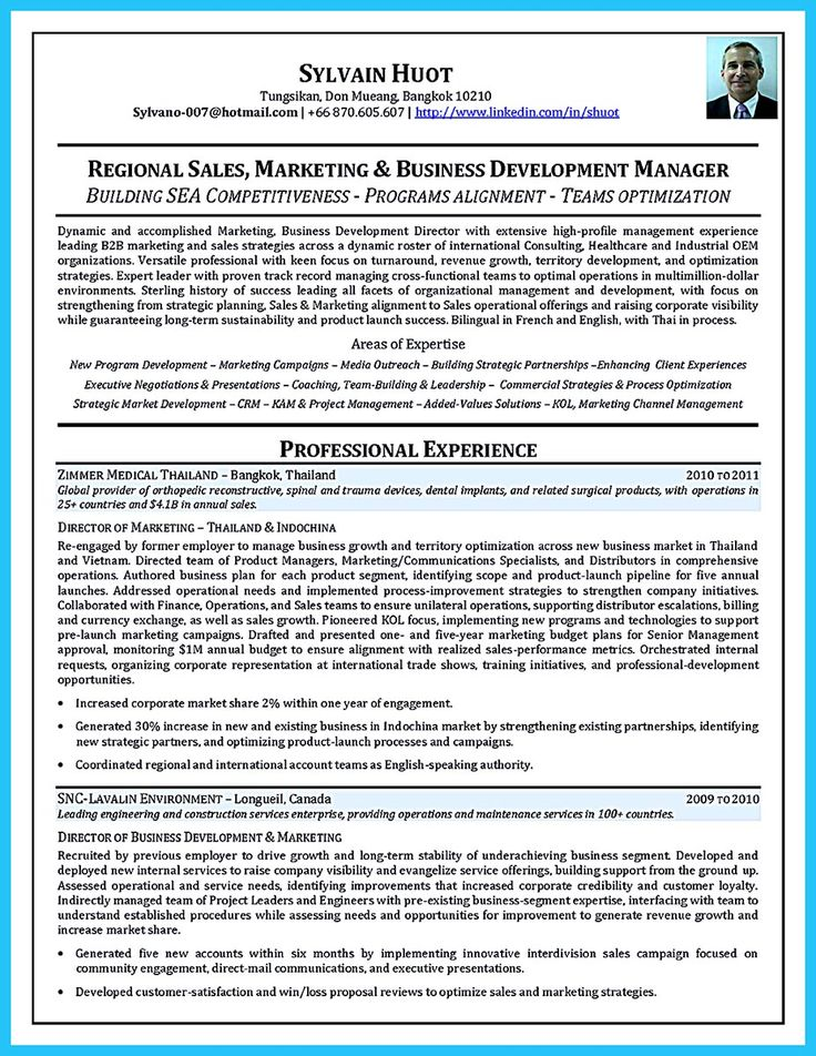 Do you want to build the best business consultant resume