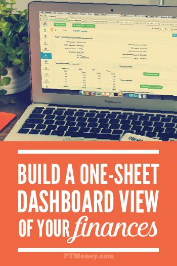 Last week I took the one-step challenge to organize my finances. To meet the challenge, I decided to build a one-sheet, dashboard-style view of our finances. I determined it should have our personal income statement and balance sheet, as well as the account IDs and passwords associated with those accounts. The dashboard will also provide …