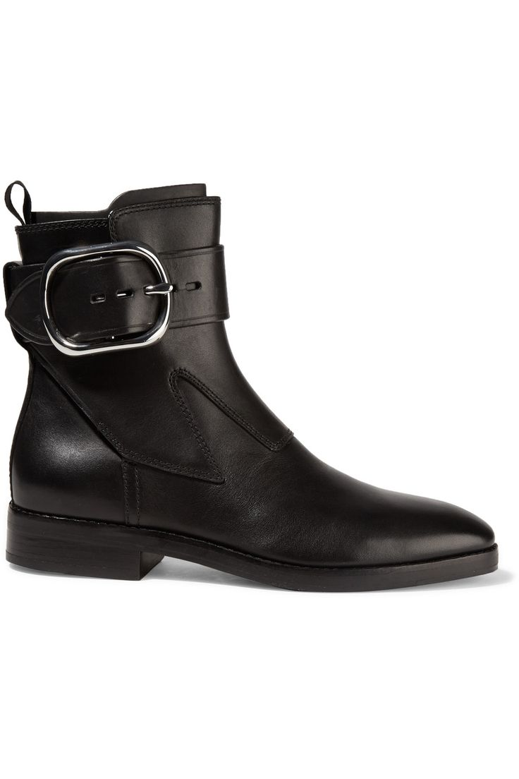 Alexander Wang Bara leather ankle boots  Black Womens Boots Honest And  Clean