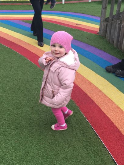 Peppa Pig's World is a perfect-sounding day out for toddlers! Check out that rainbow floor in the play park!