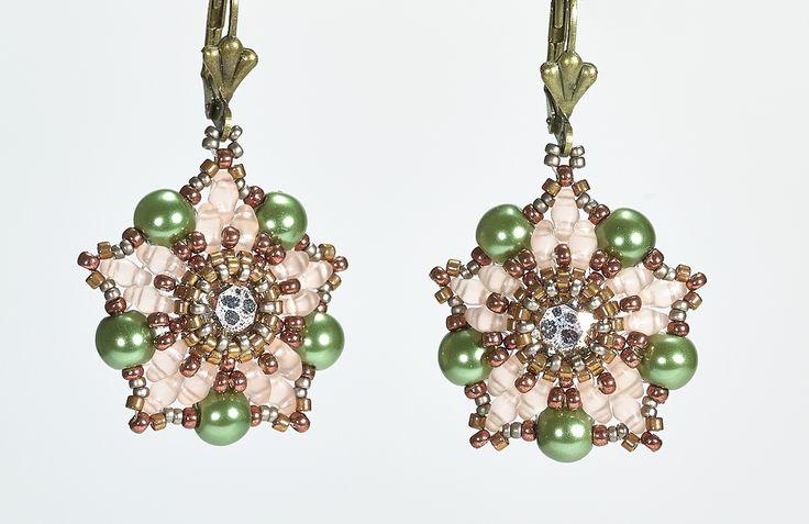 Ancient Stars Earrings - Silke Steuernagel   Freebies   Perlen Poesie
