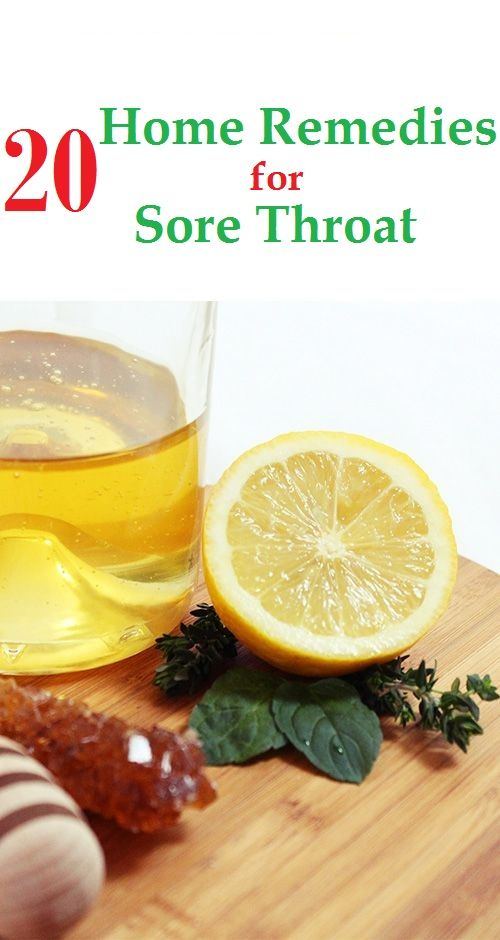 How to Get Rid of Sore Throat Fast and Naturally?
