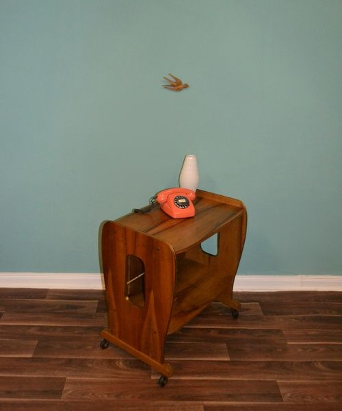 ✿ Vintage ✿  60er Design Phono TV Schrank  von LOOKandVINTAGE auf DaWanda.com