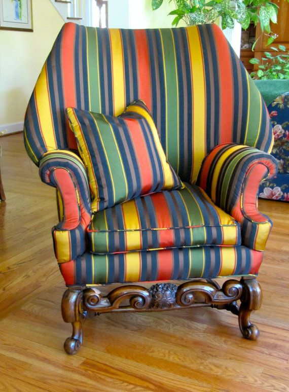 estate collection antique wingback chair in by